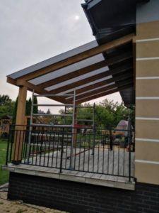 zadaszenia szklane tarasu i balkonu